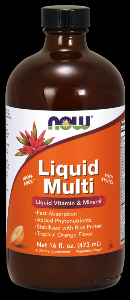 Liquid Multi (Orange 16 oz) NOW Foods